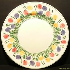 "BRISTOL POUNTNEY 'TULIP' PLATES (9"") - 1950/1960s HANDPAINTED (*6 AVAILABLE*)"