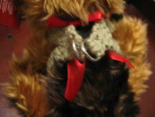 Handmade dog harness for your teacup or any small dog. Your choice color, size