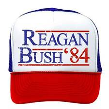 REAGAN BUSH '84 - Vintage Style One-Size-Fits-All Trucker show