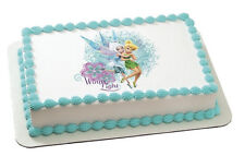 Tinkerbell EDIBLE IMAGE for cakes,cupcakes,cookies featuring Periwinkle