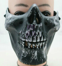 M03 Tactical Military Skeleton Skull Half Face mask f'Masquerade oudoor hunting
