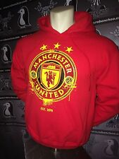 England Manchester United MUFC Mens Hooded Sweatshirt 2014 Youth and Adult sizes