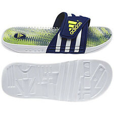 ADIDAS Mens G96578 adissage gr M Water Shower Slides Sandals [ Blue / White ]