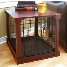Merry Pet Products Dog Crate With Wooden Cover