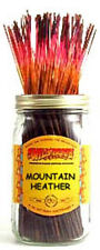 "Wildberry 11"" Incense Sticks: MOUNTAIN HEATHER - 10 20 25 40 50 or 100"