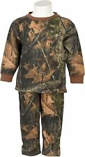 INFANT BABY BOY SUMMER CLOTHES -100% COTTON CAMO LONG SLEEVE T-SHIRT & PANTS SET