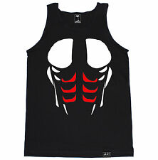 ABS GYM FUNNY CROSSFIT HEALTH RUNNING WORKOUT TRAIN FIT WEIGHTS CHEST TANK TOP