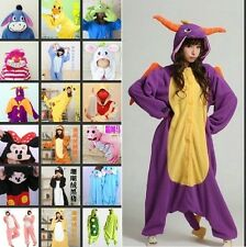 New hot sale Unisex Hoodie Animal pajamas pyjamas onesie jumpsuit Fleece costume