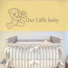 OUR LITTLE BABY wall sticker nursery personalised boy girl stickers decal vinyl