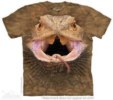 The Mountain T-Shirt Big Face Bearded Dragon Adult Size