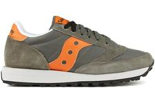 Saucony Jazz Original 2044-300 New Mens Army Green Orange Casual Running Shoes