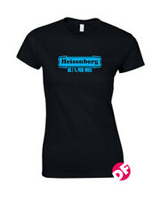Heisenberg Walter White Meths Labs 99.1% Breaking bad ladies fit  t-shirt NEW