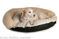 Great Paw Siesta Bolster Pet Bed Dog Bed Cat Bed