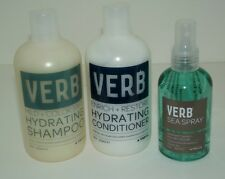 Verb SEA SPRAY windswept waves enrich restore conditioner hydrating shampoo