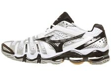 Mizuno Wave Tornado 8 Mens White Black Volleyball Shoes 430154.0090 NEW