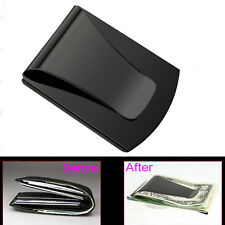 Wholesale Credit Card Holder Wallet Slim Clip Double Sided Money Clip E3 3 Color