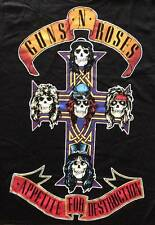 "NEW Guns N Roses ""Appetite For Destruction 1988 AFD"" Classic Rock Adult T-Shirt"