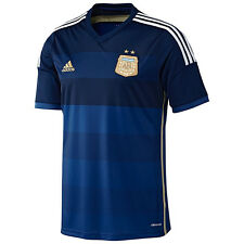 adidas Argentina World Cup WC 2014 Away Soccer Jersey Brand New Navy Blue