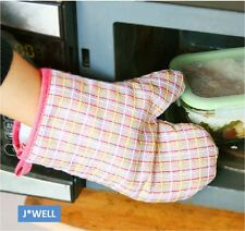 1 pc Cooking Pot Holder Microwave Oven Mitts Baking BBQ Gloves Hand Protector