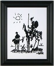 "DON QUIXOTE Framed 11""x14"" Pablo Picasso Art Print  Wall Decor Artwork Picture"