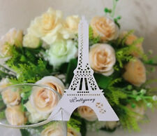 25Pcs-Eiffel Tower Name Place Cards/Tags, Wedding place cards ,Table Decorations