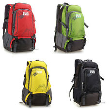 Man Sport Camping Hiking Travel Backpack Large Outdoor Bag Rucksack F091-F094