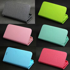 Button Deluxe Wallet Leather Flip + Tpu Case For Samsung Galaxy Win Duos i8552