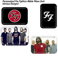 Foo Fighters Mobile phone sock - Can be personalised (Various Designs)