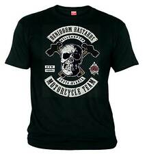 01 Benidorm Bastards HELLS ANGELS Motorcycle Club SUPPORT 81 Biker 1%er T-shirt