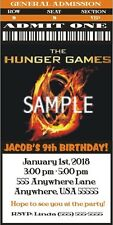 The Hunger Games - Invitations  - Customized 4 U! WE Print!