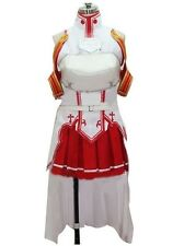 New Sword Art Online Asuna Yuuki Cosplay Costume Free shipping