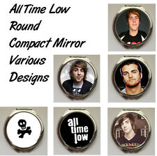 All Time Low Round Shaped Compact Mirror (Various Designs)