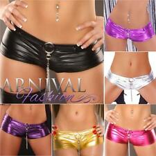 NEW LADIES SEXY CLUB DANCE WEAR 8 10 12 WOMENS MICRO MINI SHORTS HOTPANTS S M L