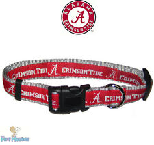 NCAA Pet Fan Gear ALABAMA CRIMSON TIDE Sport Collar Collars for Dog Dogs Puppy