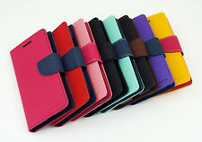 Leather Wallet Stand Magnetic Flip Cover Case for LG Google Nexus 4 E960 Stylus