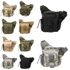 Waterproof Tactical Oxford Backpack Outdoor Cam Hiking Trekking Waist Bag Pouch