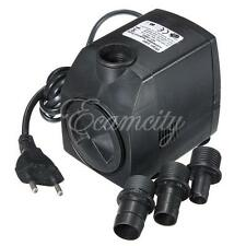 200-1600L/H 2.5-25W EU 220V Submersible Pompe à Eau pr Aquarium Poisson Fontaine
