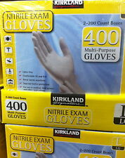 Kirkland Nitrile Latex Free Disposable Gloves S M L Cleaning Tanning Health Dyes