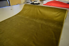 CORDUROY FABRIC KHAKI 11 WALE 100% COTTON BY THE METRE - CLEARANCE ITEM