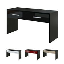 Bench Seater Depository Wardrobe Luna in Black - High Gloss & Natural Tones