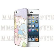 Little Twin Stars Cute Japan Anime 3D Case Cover for Iphone 4 4s 5 5s 5c iPod