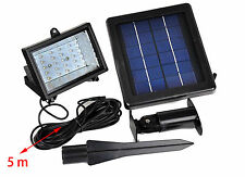 Solar 30 LED Outdoor Garden Spot Flood Super Bright Light PACK IN 1/2/3/5/10X