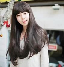 Brand New Style Womens Girls Sexy Long Fashion BUSC Curly Full Wig+wigs cap gift