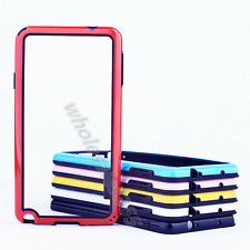Candy TPU Rubber Gel Soft Thin Bumper Frame Case Cover For Various Mobile Phone