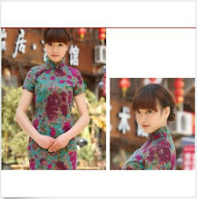 New Chinese Women's Mini Cheongsam Evening Dress/QiPao Fashion