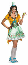 Mad Hatter Sassy Adult Womens Costume Alice in Wonderland Theme Party Halloween