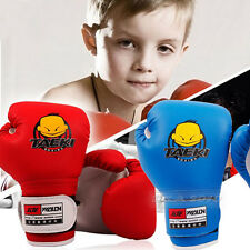 Child Kickboxing MMA Muay Thai Training Punching Bag Boxing Gloves 4oz/pair new