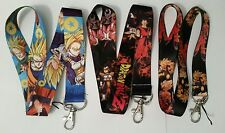 Dragon Ball Z Anime Lanyard Strap Keychain ID Badge Protector Key Holder 18""