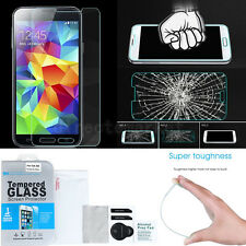 Premium Tempered Glass Film Screen Protector Kit For Samsung Galaxy S4 S5 Set