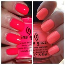 China Glaze Nail Polish SUMMER FAVOURITES! ***POOL PARTY & FLIP FLOP FANTASY ***